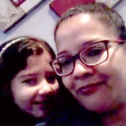 Gislaine mãe aluna Michele 3º ano B